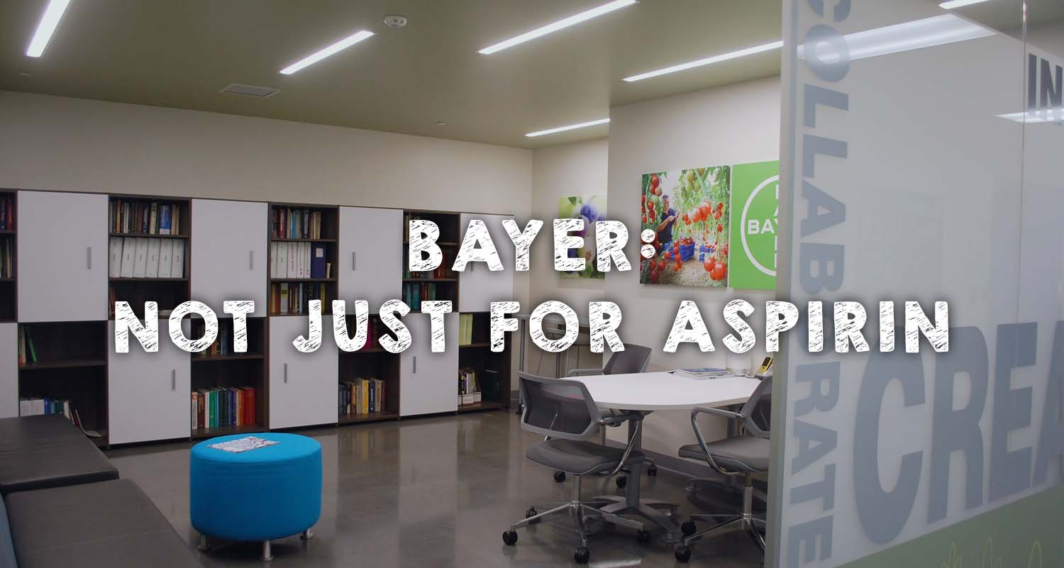 Bayer Not Just For Aspirin Get Outta The House