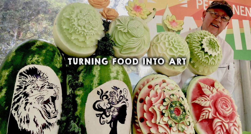 Turning Food into Art